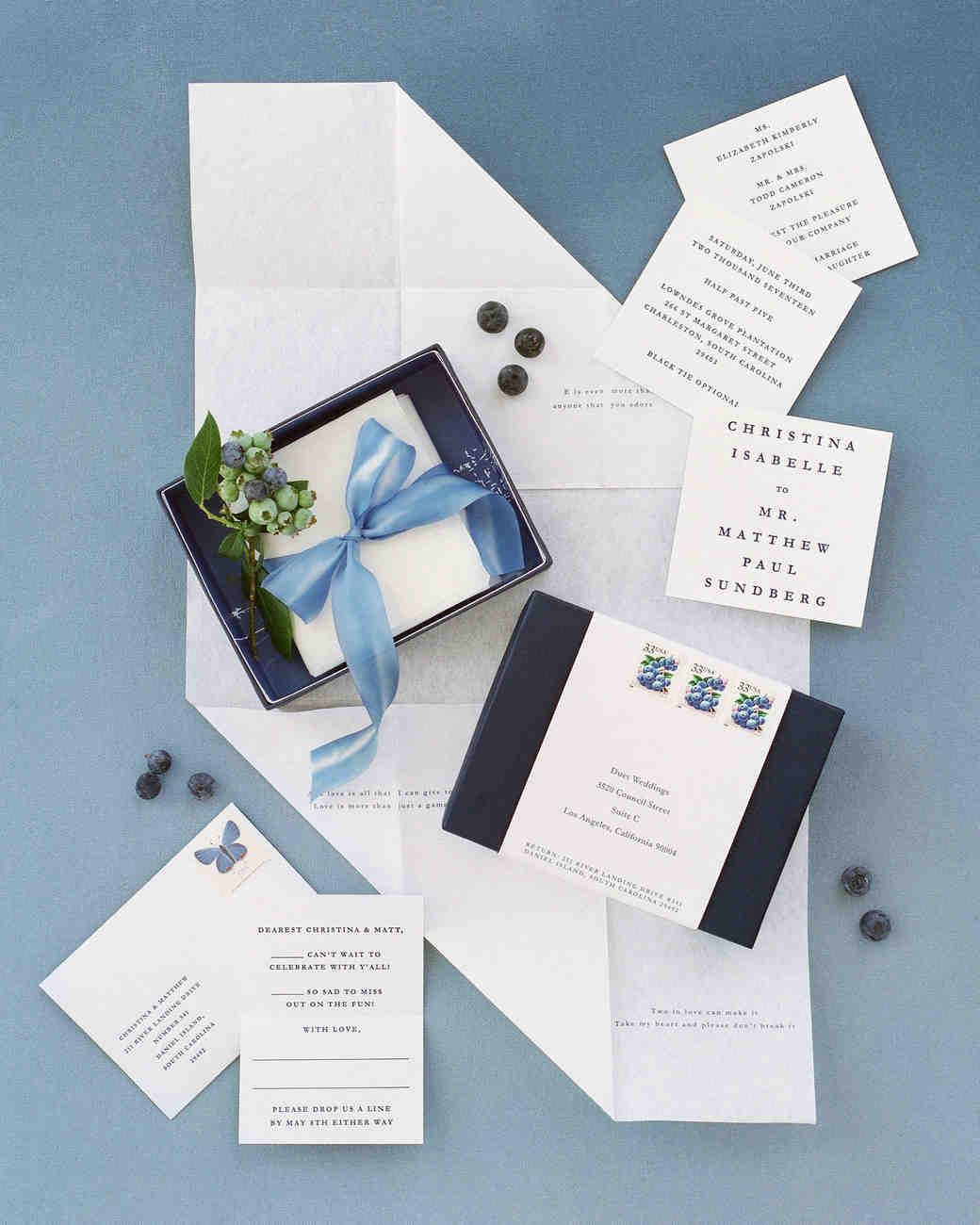 christina matt wedding charleston sc invitation suite