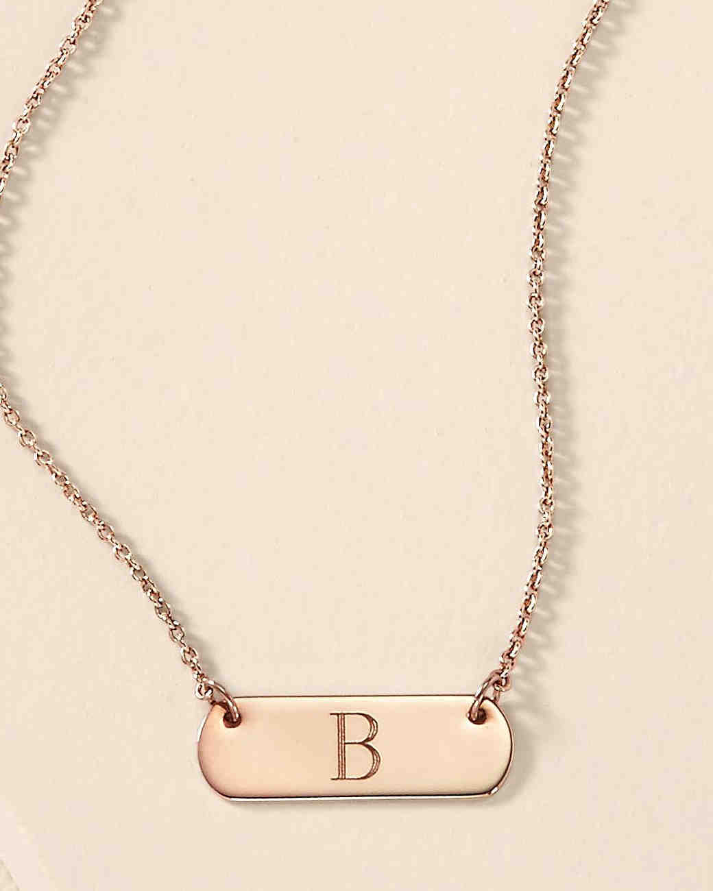 9597330529 Personalized Jewelry Gifts Your Bridesmaids Will Love | Martha Stewart  Weddings