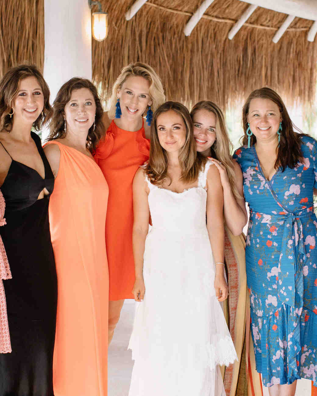 ariel trevor wedding tulum mexico friends of the bride