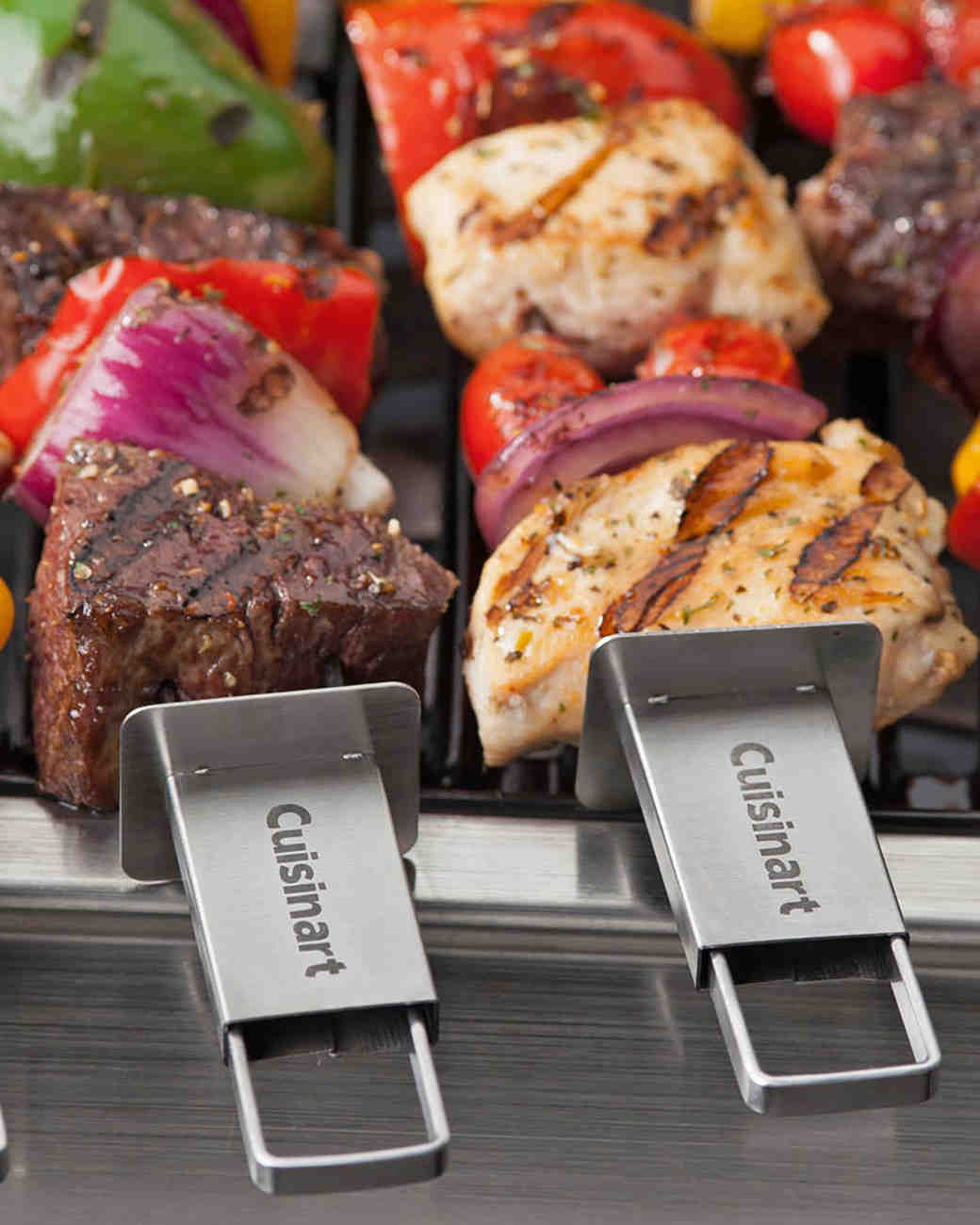 zola cuisinart grill sliding grilling skewer
