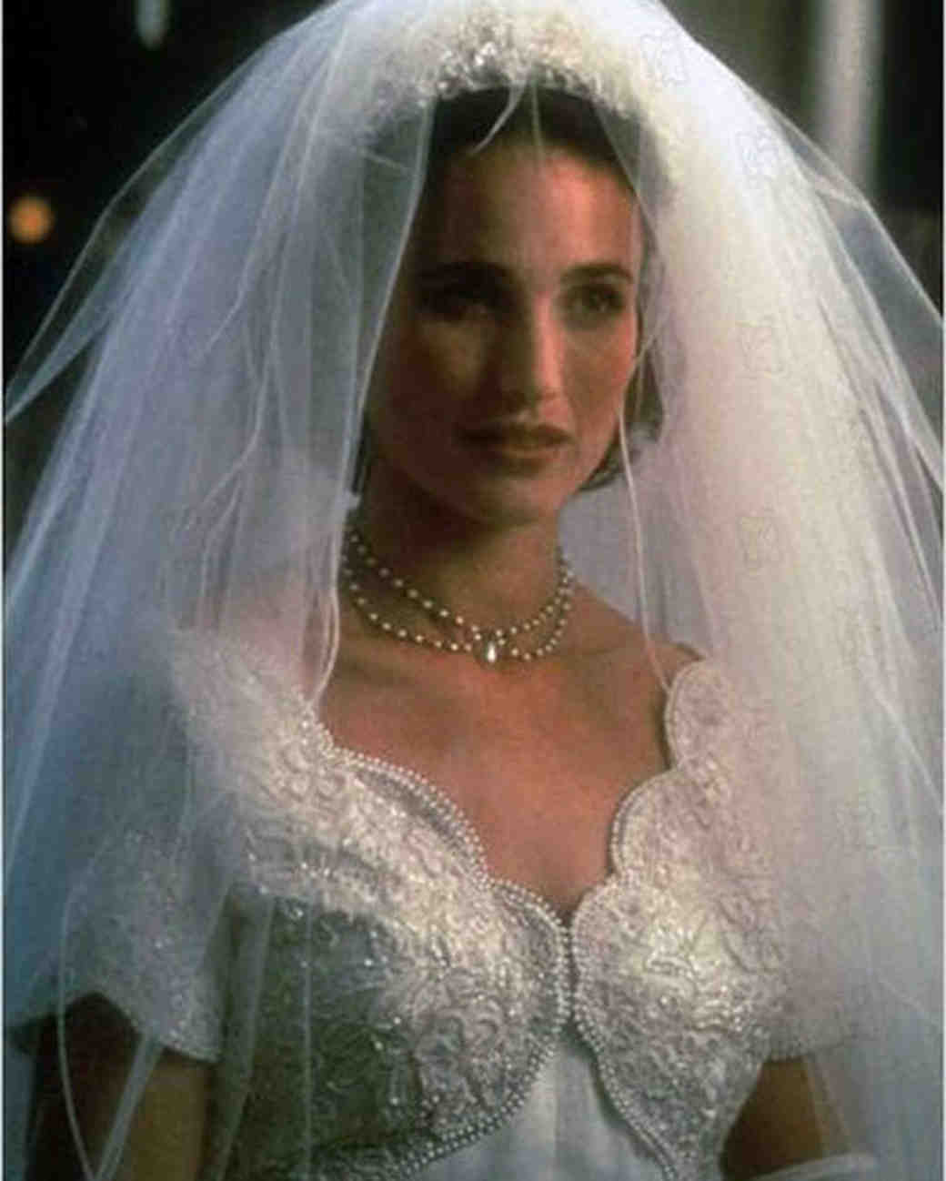 Four weddings and a funeral wedding dress