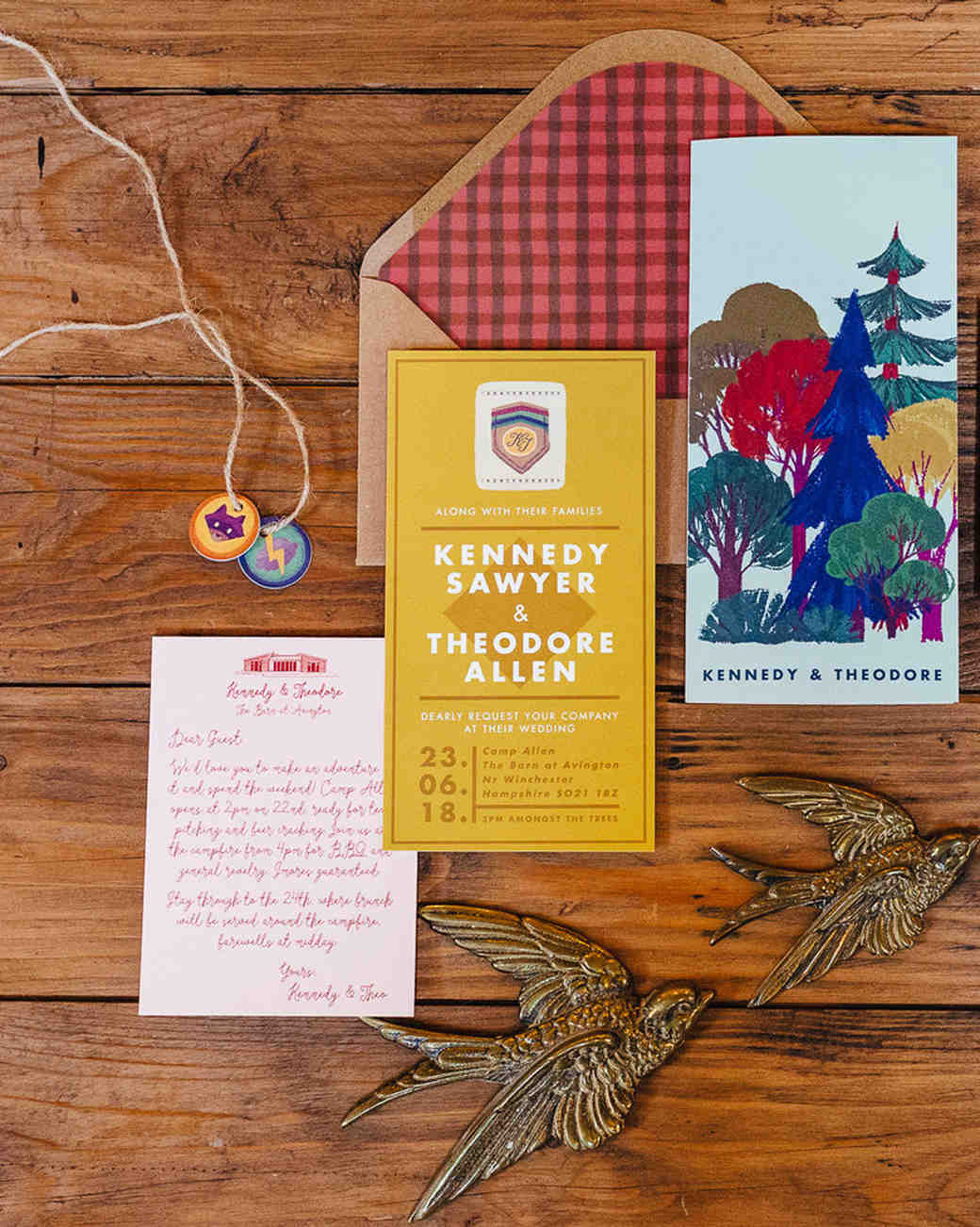 Moonrise at the Grand Budapest Hotel inspired stationary suit