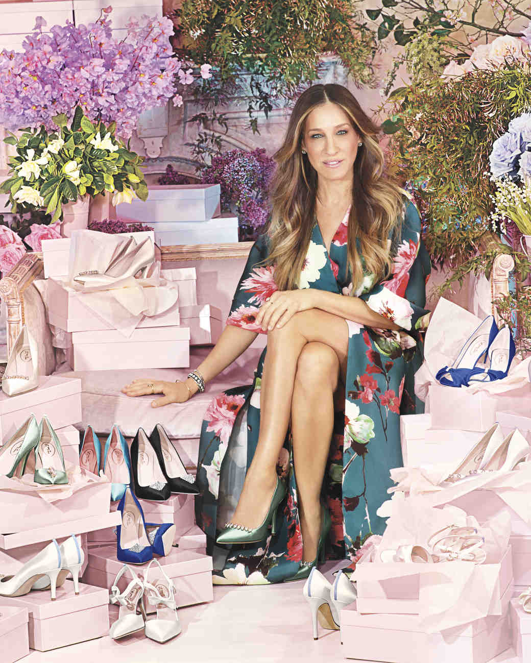 9e9b6f218e Sarah Jessica Parker Puts Her Best Foot Forward With Her New Collection of  Shoes Designed Just for Brides | Martha Stewart Weddings