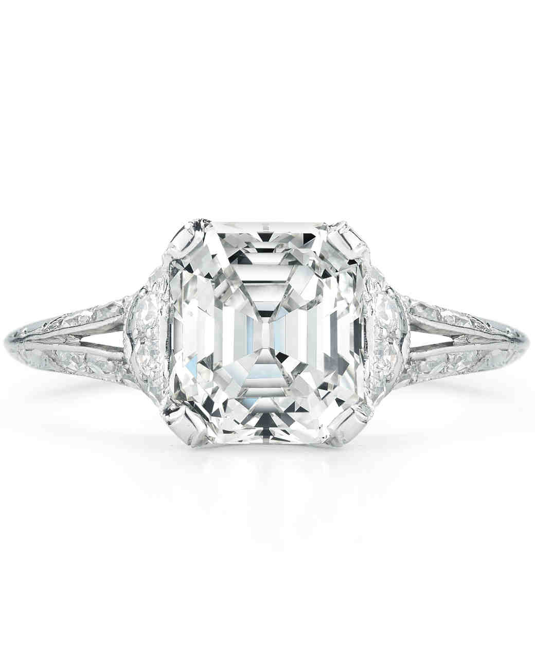 with lovely ring of edwardian vintage wedding engagement diamond rings attachment settings style