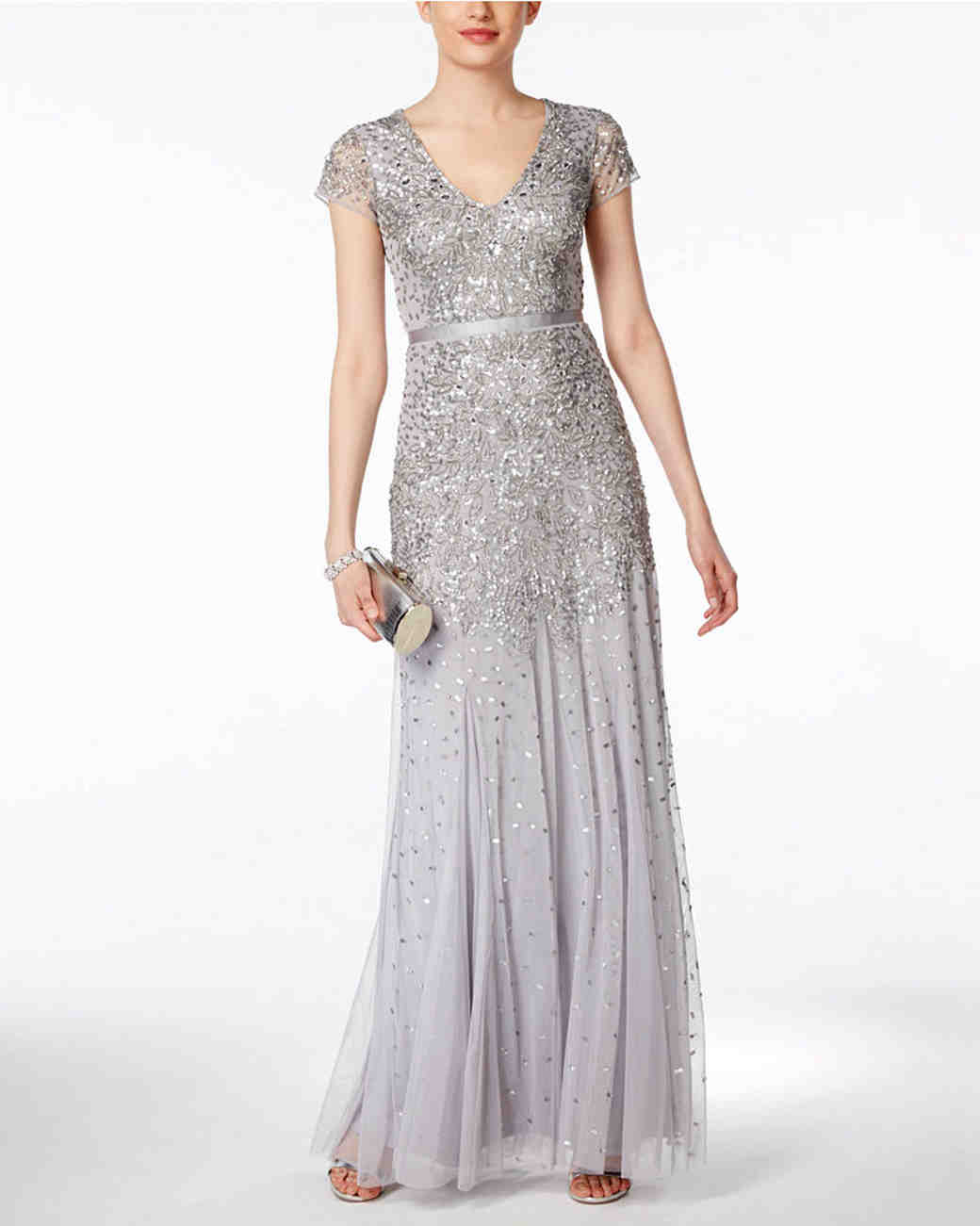 57114edc476 Metallic Bridesmaid Dresses That You Can Wear Over and Over Again ...
