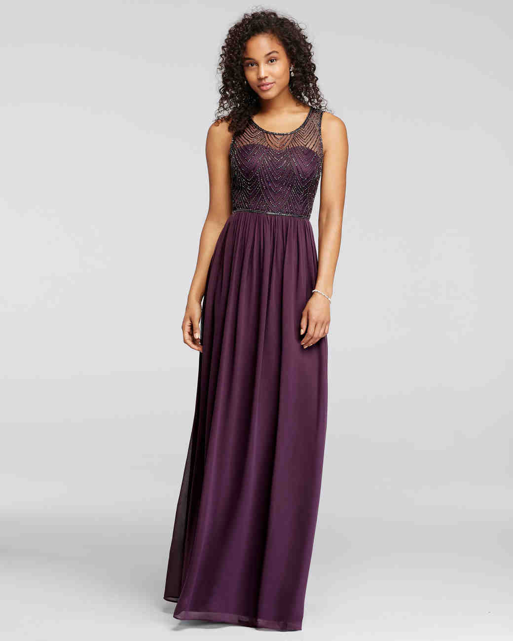 Purple Bridesmaids Dresses | Purple Bridesmaid Dresses Martha Stewart Weddings