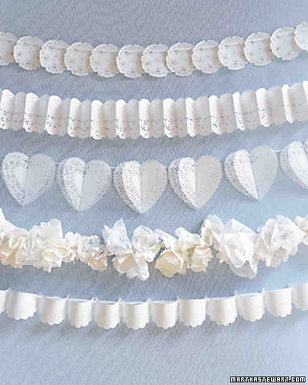 Diy Doily Wedding Decorations Martha Stewart Weddings