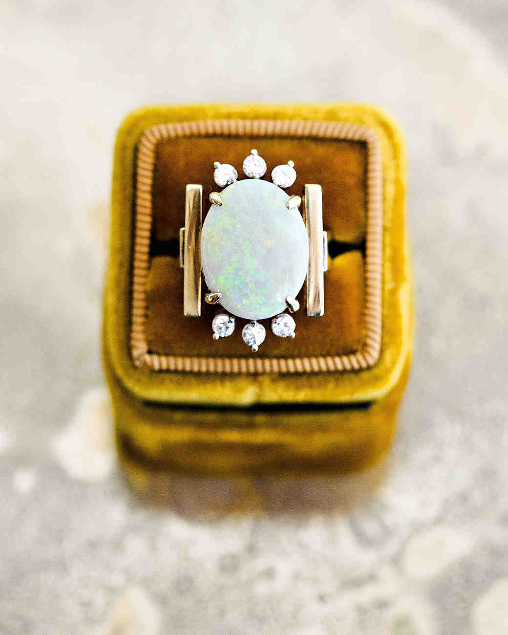 britt courtney wedding minnesota opal ring wedding gift