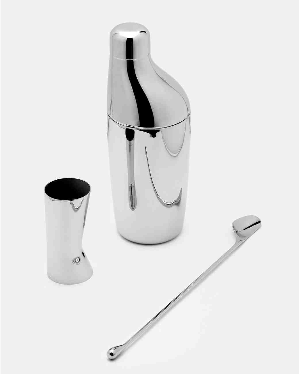 hollowware anniversary gifts sky cocktail shaker set georg jensen