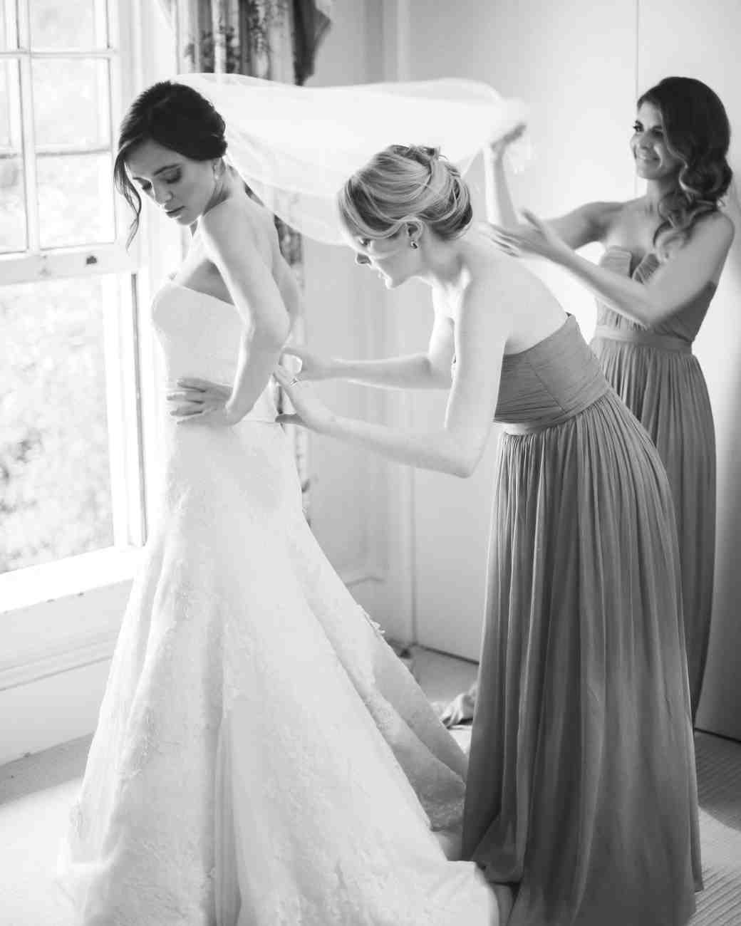 c91ae30c85b 7 Hacks for Keeping Your Strapless Wedding Dress from Falling Down ...