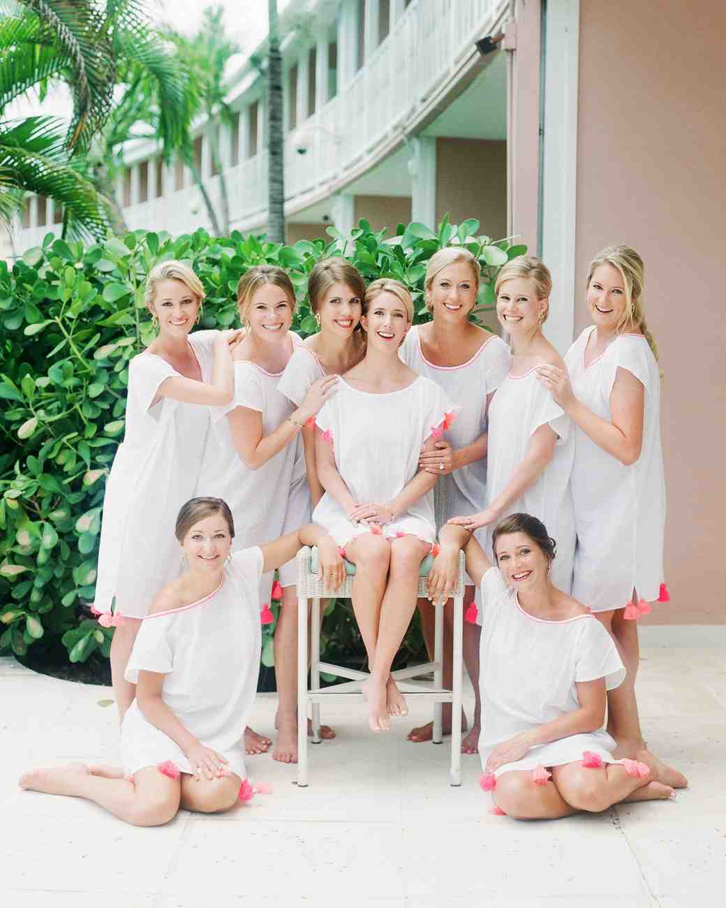 207f0ea495 Bridesmaids  Robes Alternatives to Set You and Your  Maids Apart ...