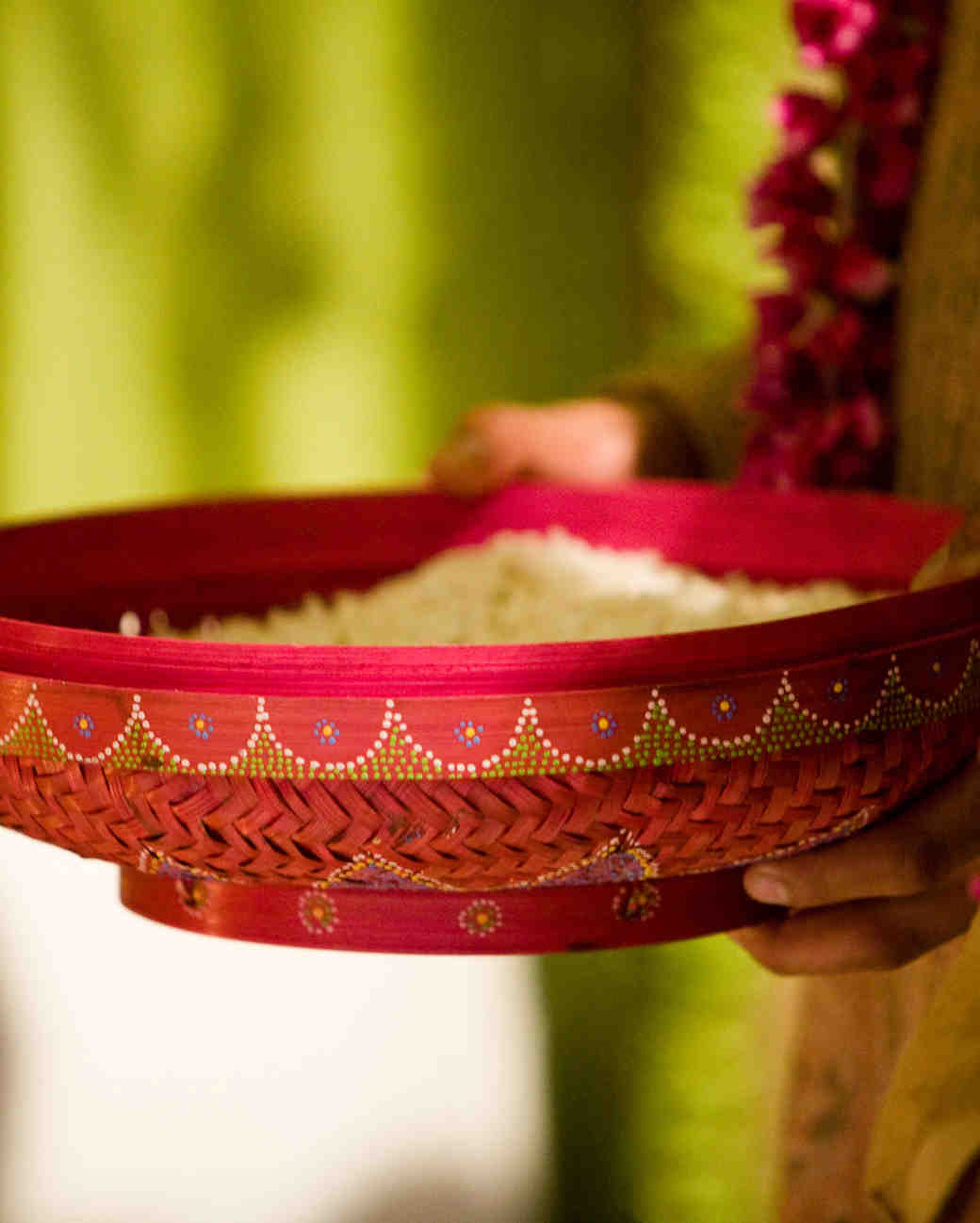 pot of rice indian wedding tradition