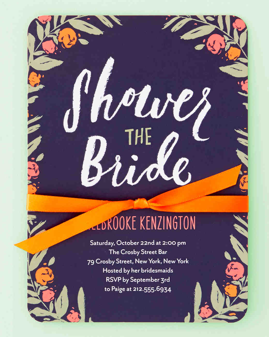 Party Invitations | Martha Stewart Weddings