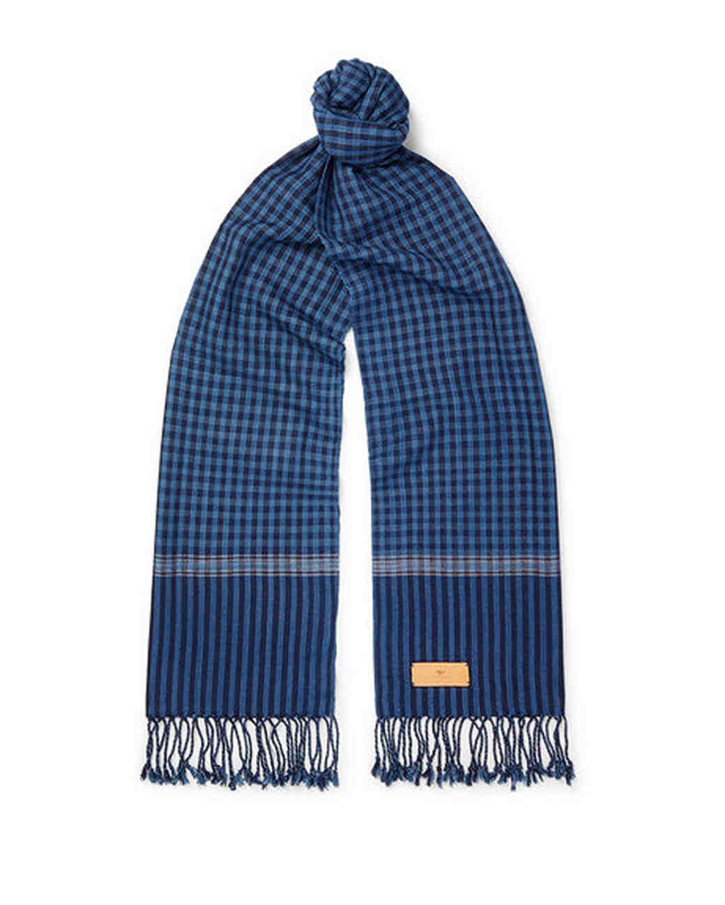 cotton anniversary gift woven scarf