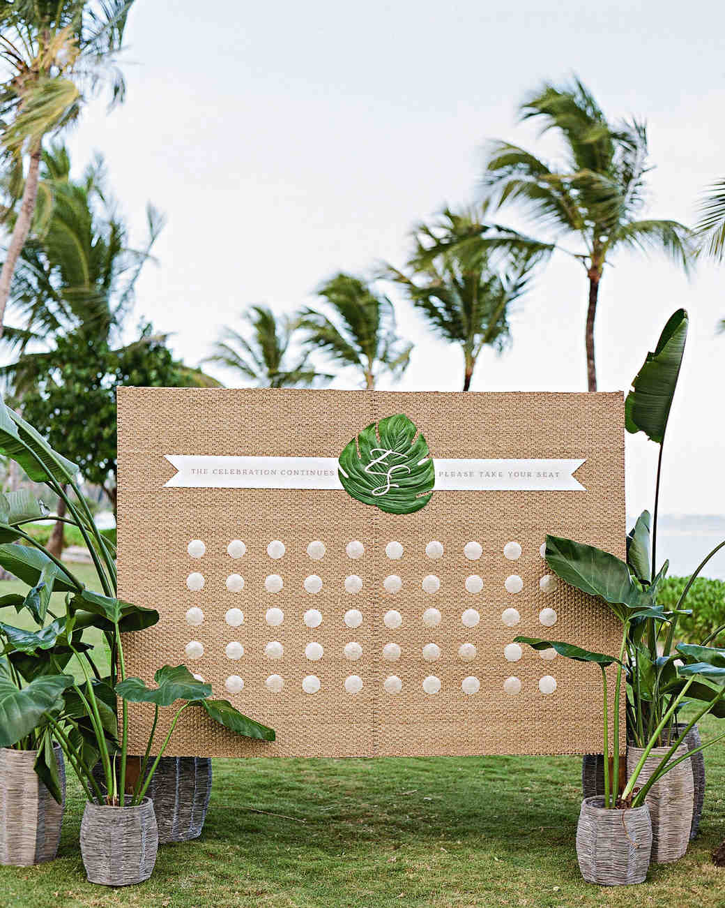 elizabeth sohale wedding dominican republic shell escort cards