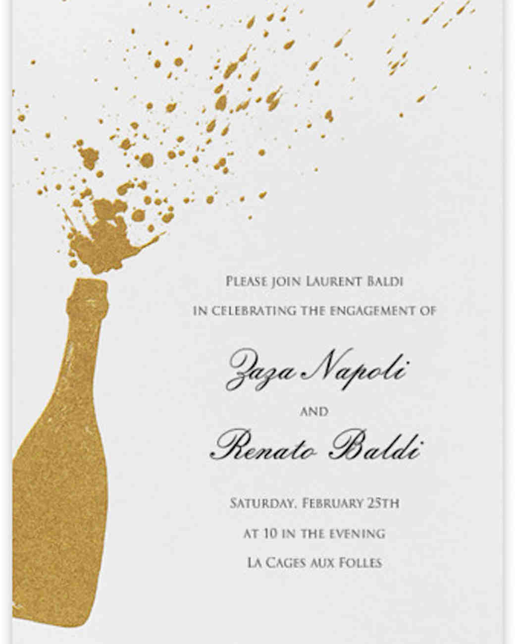 35 Paperless Engagement Party Invites – Champagne Party Invitations