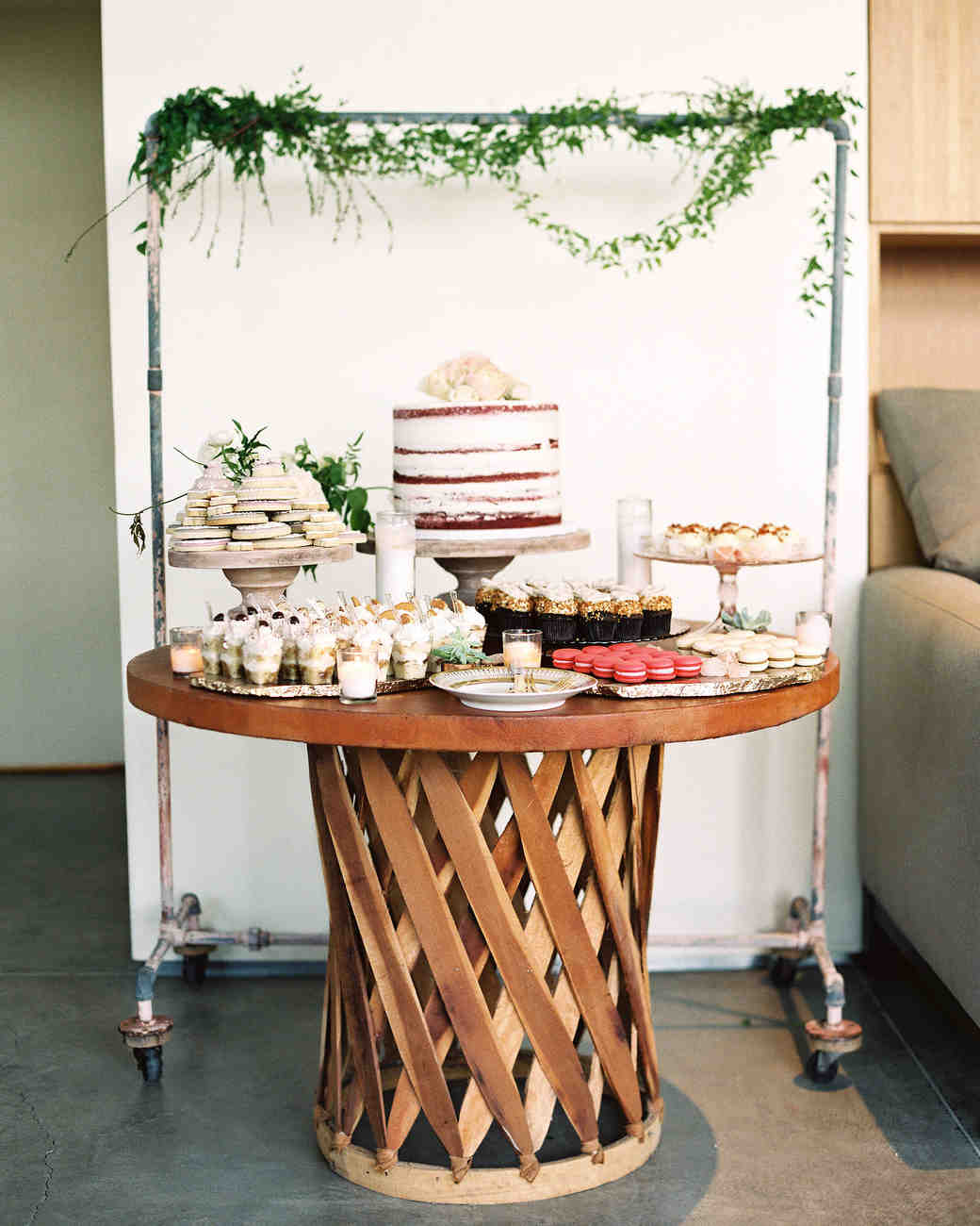 martha stewart wedding cake table decorations 17 wedding cheesecake ideas to upgrade your dessert bar 17212