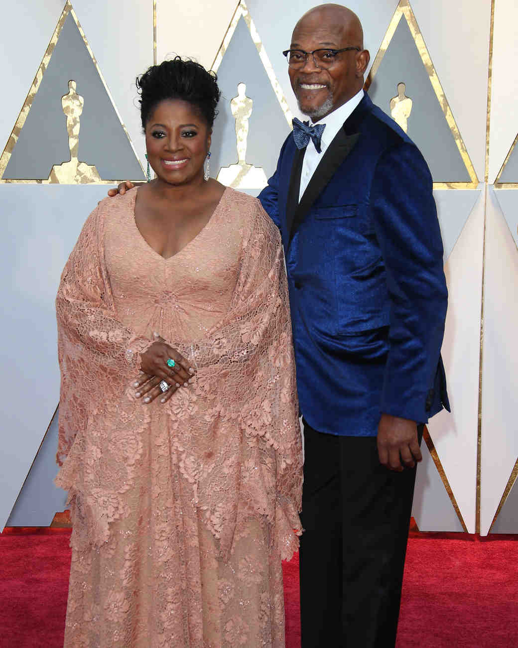 longest celebrity relationships samuel l jackson latanya richardson getty
