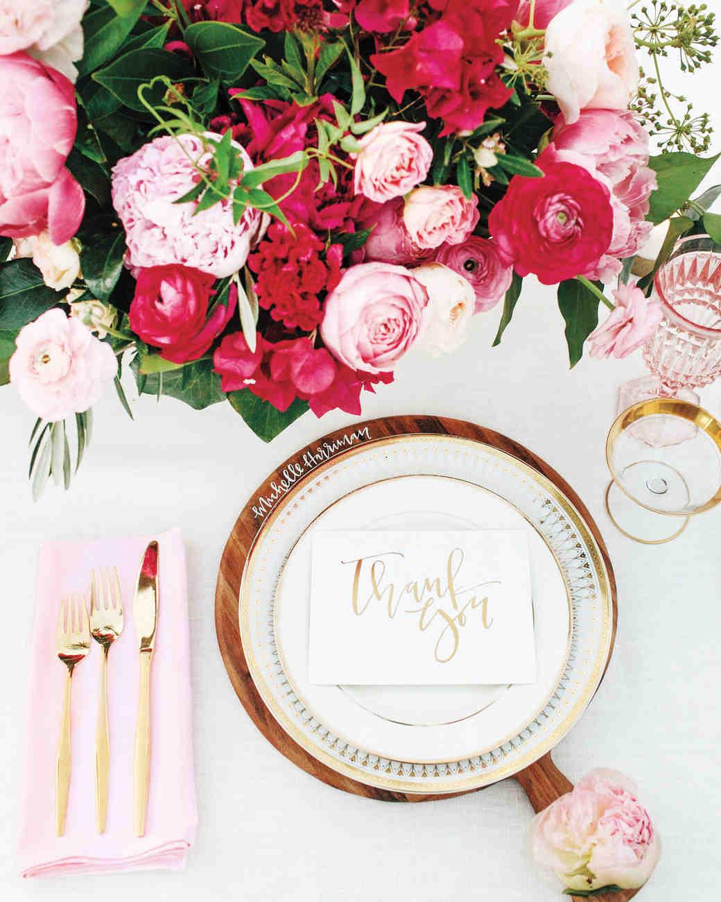 & 18 Creative Ways to Set Your Reception Tables | Martha Stewart Weddings