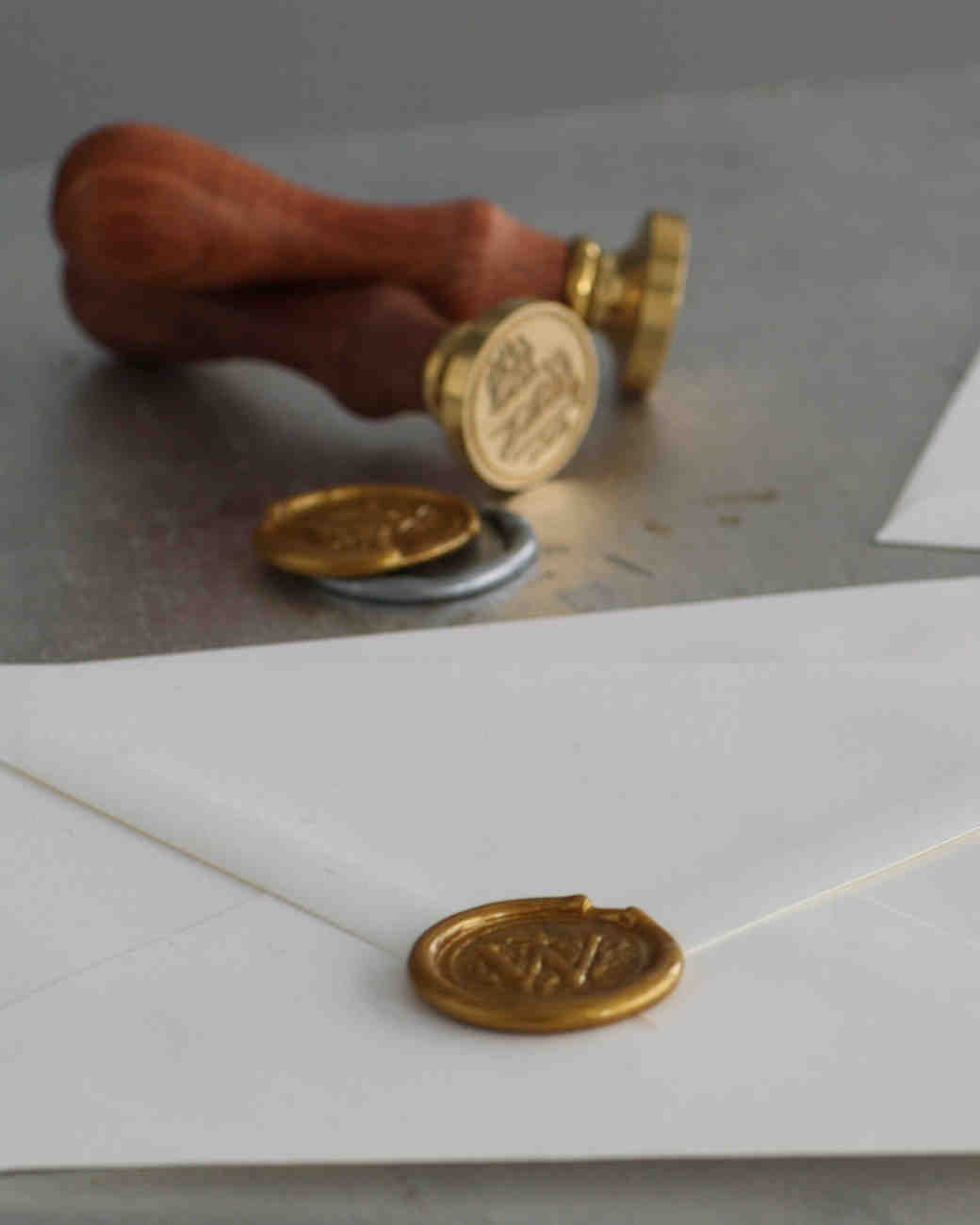 Elevate Your Wedding Invites with These DIY Wax Seals