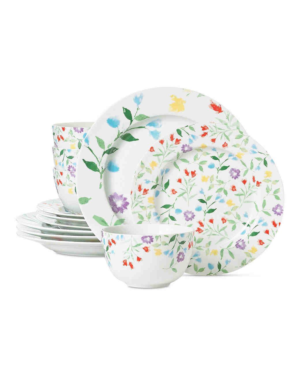 floral dinnerware set martha stewart