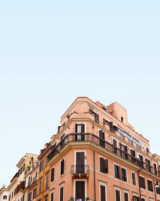 rome city scape