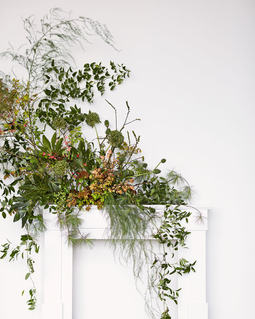 cascading foliage