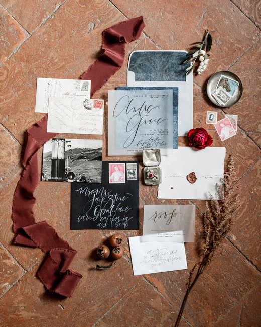 fall invites see-through suite