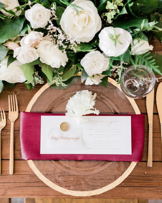 susie joe wedding menu