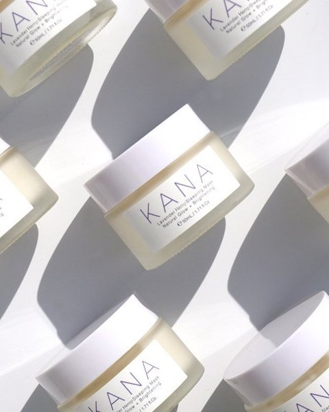 cbd beauty kana skincare lavender sleeping mask
