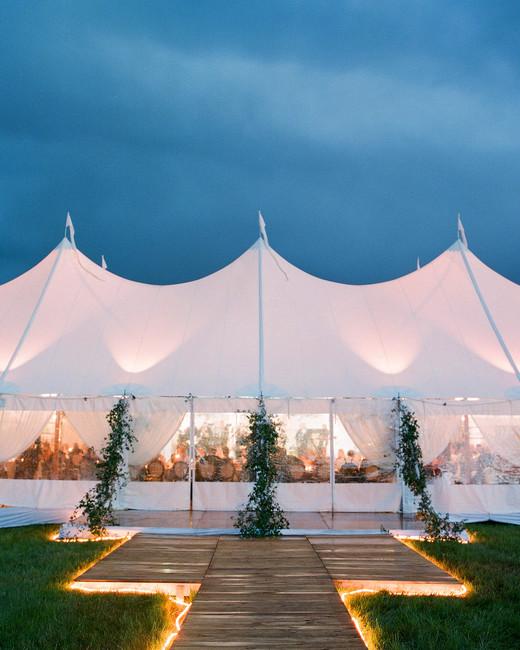 sloan scott wedding tent white