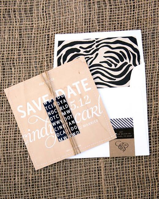 animal print wedding ideas zebra print stationary suite