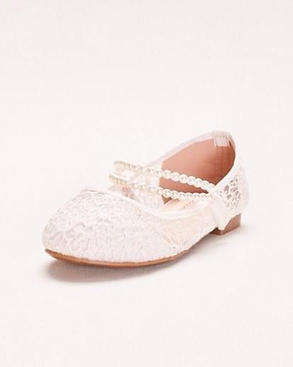 flower girl shoes davids bridal blossom