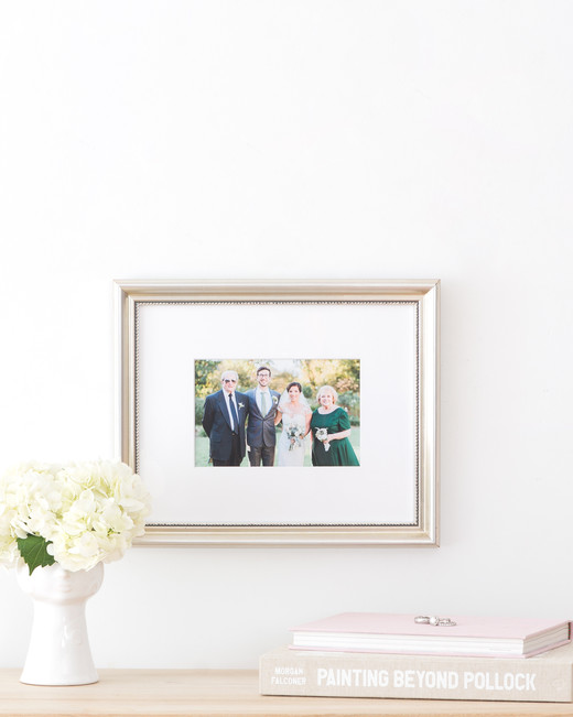 Framebridge Framed Wedding Photo