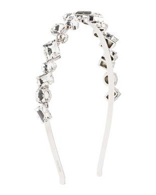 silver jeweled headband
