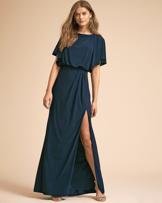 "BHLDN ""Lena"" Flutter-Sleeve Dress"