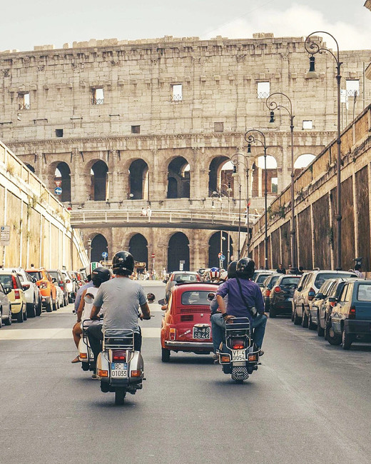 rome activities scooteroma