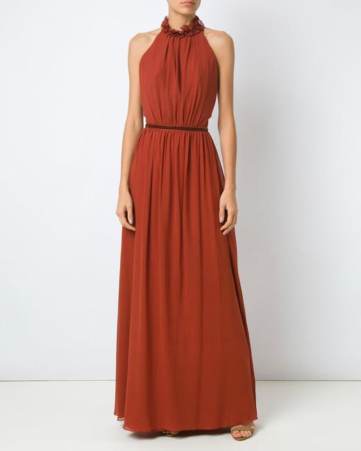 Tufi Duek Halter Gown