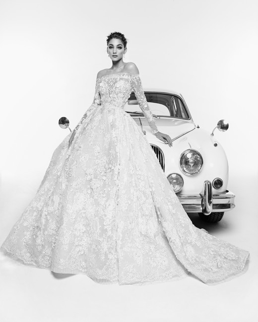 Zuhair Murad Wedding Dress Spring 2019 Off The Shoulder Ball Gown