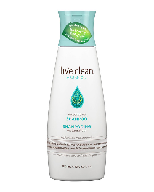 natural shampoos live clean