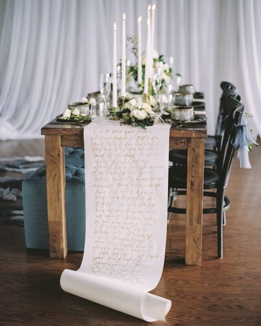 statement scroll runner