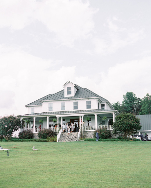 estate wedding near blue ridge mountains