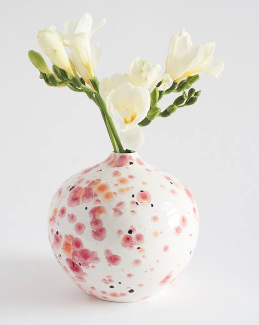 bridesmaid gift flowering vase