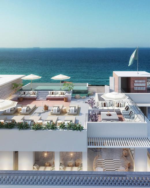 city meets beach hotel amapa rooftop lounge
