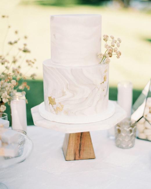 jena donny wedding agate pattern cake display