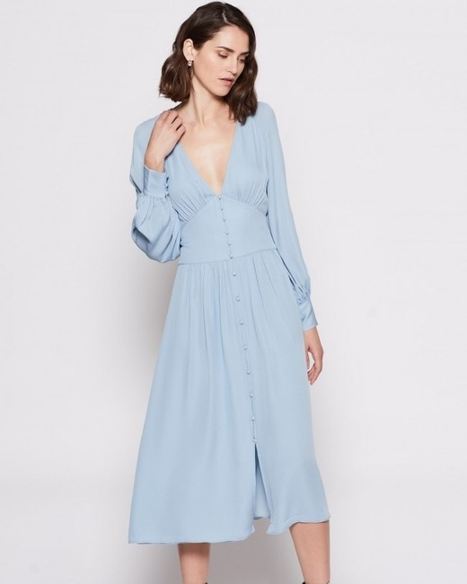 joie light blue kyria dress