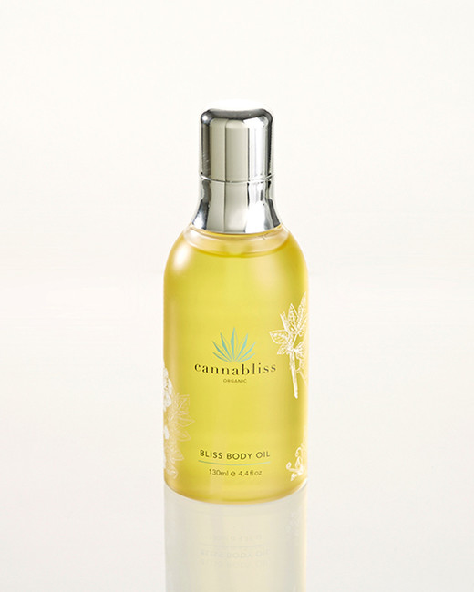 cbd beauty cannabliss organic body oil