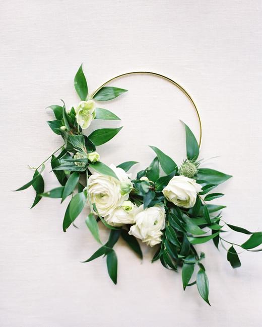 hoop bouquets christine clark