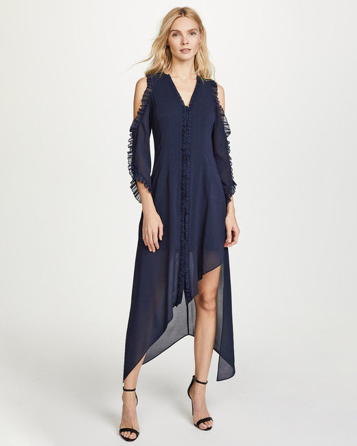 "Alice + Olivia ""Claudie"" Ruffle Dress"
