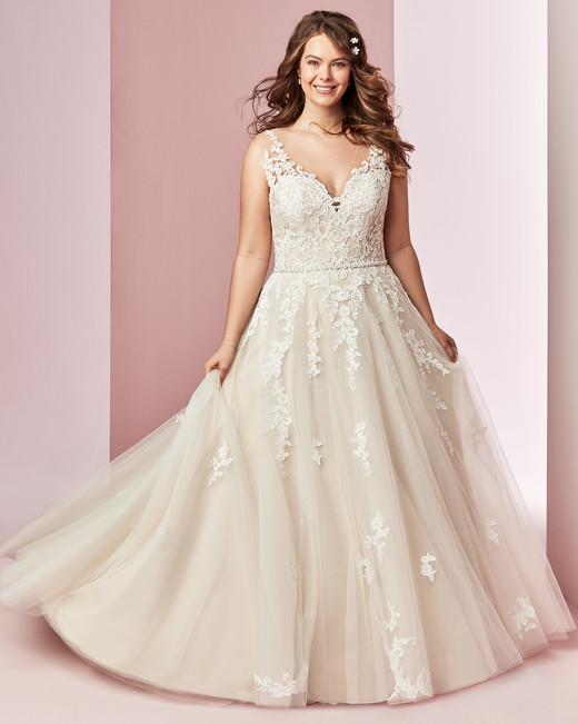 Rebecca Ingram wedding dress spring 2019 ball gown v-neck tulle